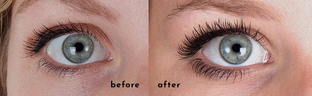 Lashcode - effects before and after