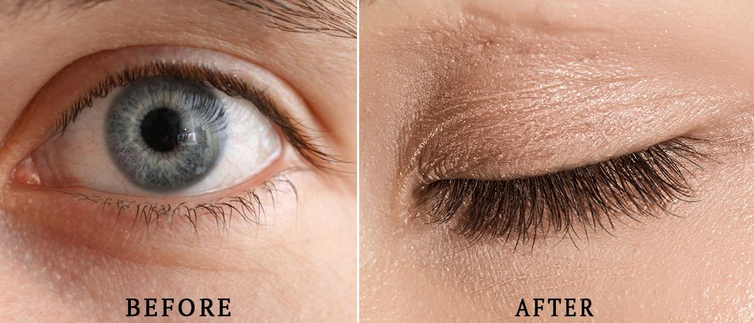 Nanolash eyelash serum - effects