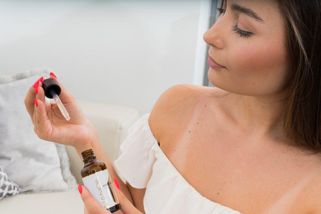 Nanoil recommended face serum for redness